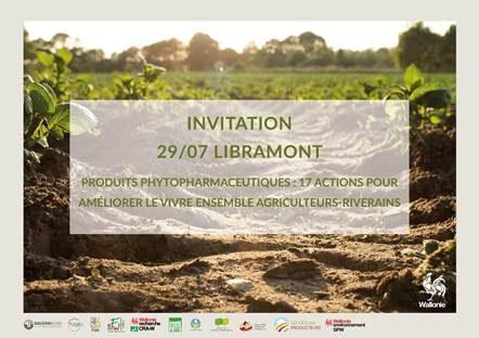 Produits phyto : 17 actions pour améliorer le vivre ensemble agriculteurs-riverains - Lundi 29 juillet – 10h (Foire Agricole de Libramont)